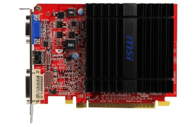 Видеокарта MSI Radeon R5 230 625Mhz PCI-E 2.1 1024Mb 1000Mhz 64 bit DVI HDMI HDCP