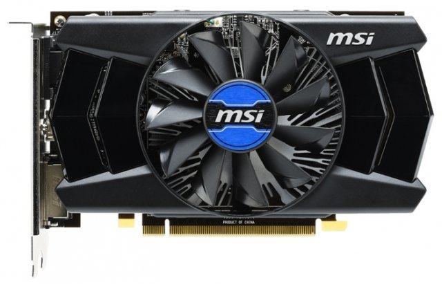 Видеокарта MSI Radeon R7 250 800Mhz PCI-E 3.0 2048Mb 1800Mhz 128 bit DVI HDMI HDCP