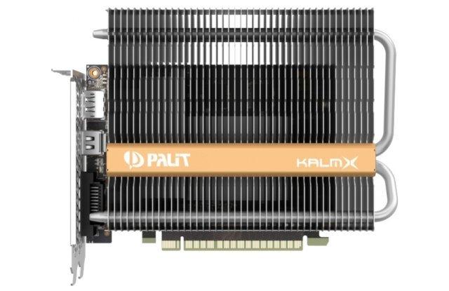 Видеокарта Palit GeForce GTX 1050 Ti KalmX 1290Mhz PCI-E 3.0 4096Mb 7000Mhz 128 bit DVI HDMI HDCP