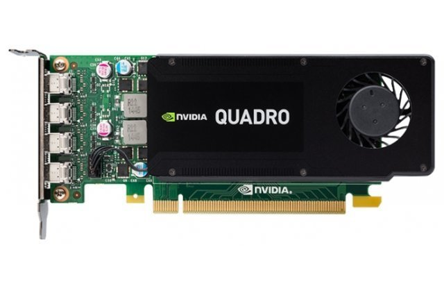 Видеокарта PNY NVIDIA Quadro K1200 for Display Port PCI-E 2.0 4096Mb 128 bit
