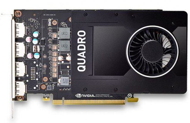Видеокарта PNY NVIDIA Quadro P2000 PCI-E 3.0 5120Mb 160 bit HDCP