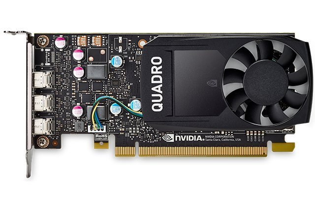 Видеокарта PNY NVIDIA Quadro P400 for Display Port PCI-E 3.0 2048Mb 64 bit HDCP