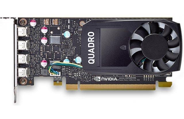 Видеокарта PNY NVIDIA Quadro P600 for Display Port PCI-E 3.0 2048Mb 128 bit HDCP