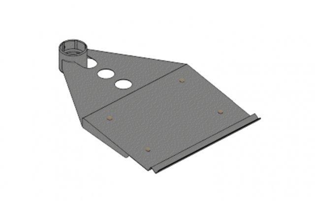 Полка для клавиатуры, вылет 250 мм