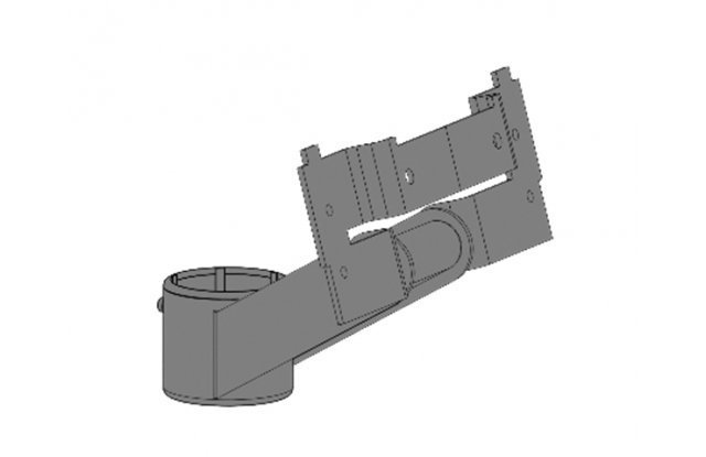 Компактный кронштейн для монитора 140x25мм