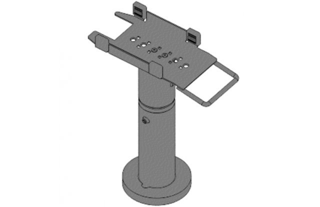 Кронштейн телескопический Профпол для Пин-Пада Yarus MPED400, высота 200-300 мм