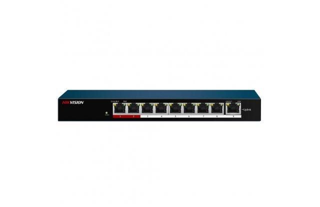 Коммутатор Hikvision DS-3E0109P-E/M