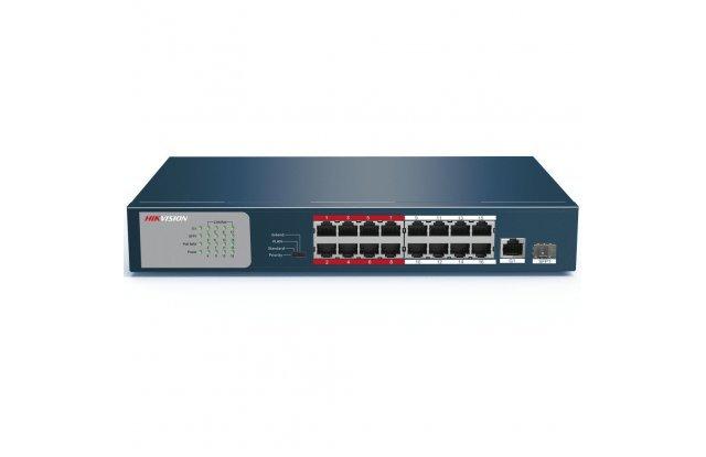 Коммутатор Hikvision DS-3E0318P-E/M