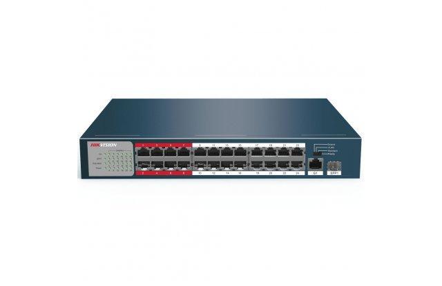 Коммутатор Hikvision DS-3E0326P-E/M