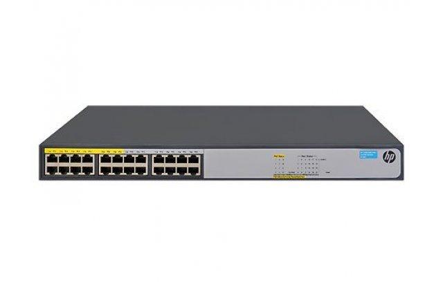 Коммутатор HPE 1420-24G-PoE+ JH019A