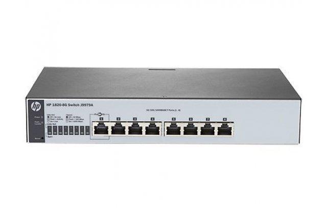 Коммутатор HPE 1820-8G J9979A