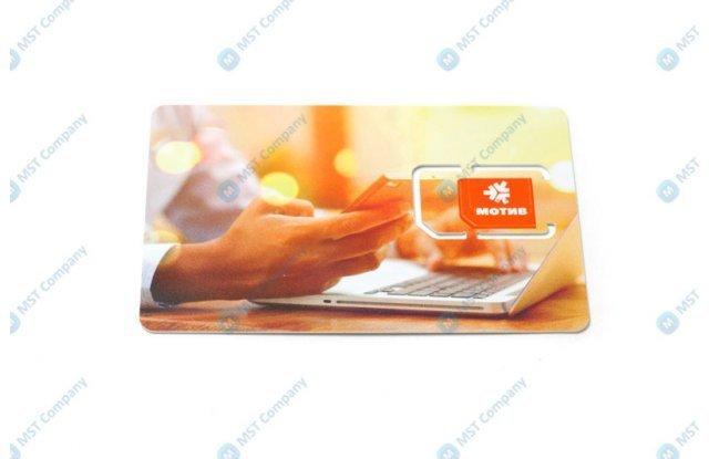 SIM-карта Мотив М2М для банкомата, 64Кбит
