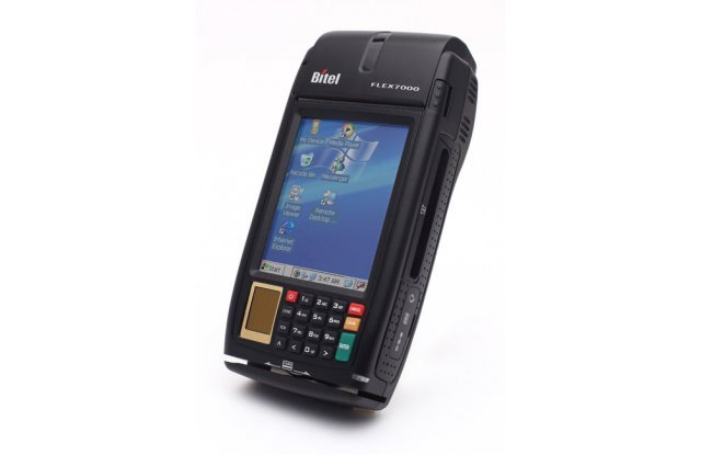 POS-терминал Bitel Flex 7000 Finger GPRS/3G/Wi-Fi/Bluetooth/GPS/256Mb/Camera 5mp