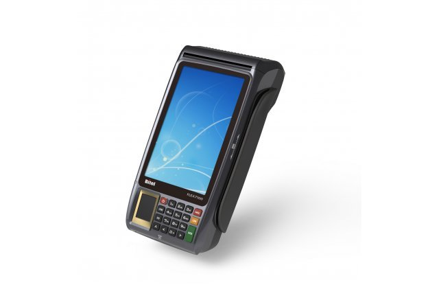 POS-терминал Bitel IC 7100 Finger LTE/3G/Wi-Fi/Bluetooth/2D