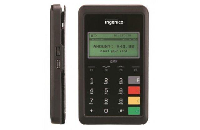 Мобильный терминал Ingenico ICMP Bluetooth, Contactless, 32+128 Mb
