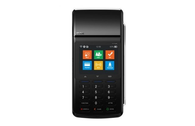 POS-терминал PAX D210E GPRS/WiFi/Bluetooth/CTLS