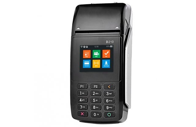 POS-терминал PAX D210 WiFi/Bluetooth/CTLS