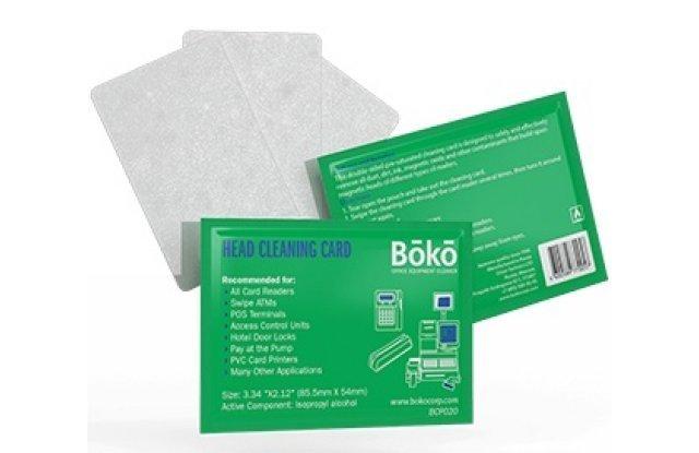 Чистящая карта с пропиткой BOKO BCP01