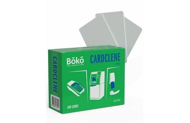 Сухая чистящая карта для банкоматов Cardclene BCP1