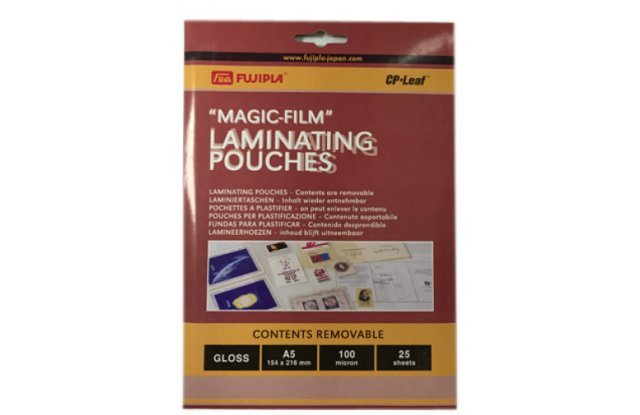 Fujipla Magic-Film Пакетная глянцевая пленка для ламинирования 154x216 мм, 100 мкм