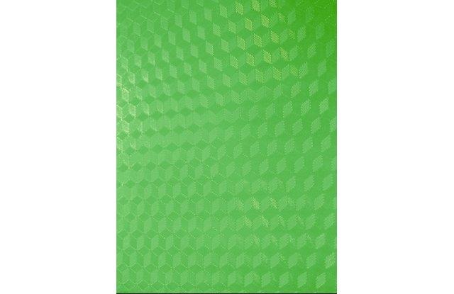 Обложки для переплёта пластиковые прозрачные Office Kit Cubic А4 0.18 мм зеленые 100 шт