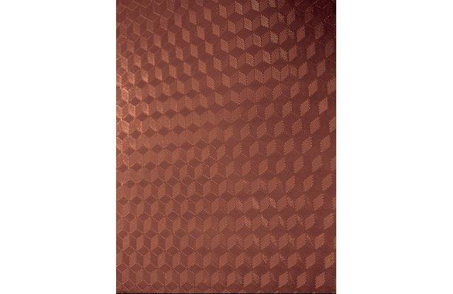 Обложки для переплёта пластиковые прозрачные Office Kit Cubic А4 0.18 мм коричневые 100 шт