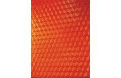 Обложки для переплёта пластиковые прозрачные Office Kit Cubic А4 0.18 мм красные 100 шт