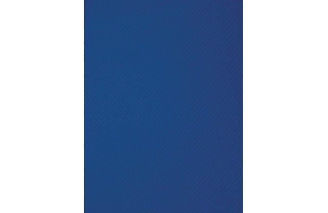 Обложки для переплёта пластиковые прозрачные рифленые Office Kit А4 0.3 мм синие 50 шт