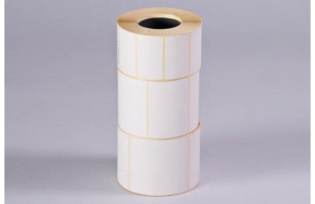 Термоэтикетка НБК 58x30 мм, 900 шт