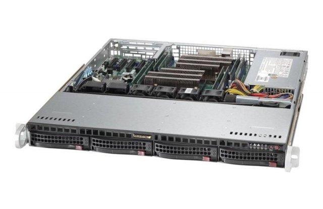 Корпус серверный Supermicro CSE-813MFTQC-R407CB