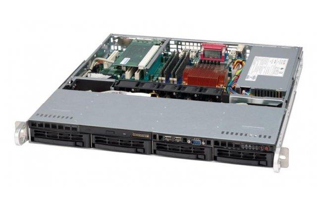 Корпус серверный Supermicro CSE-813MTQ-350CB