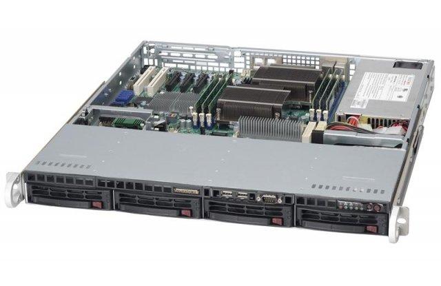 Корпус серверный Supermicro CSE-813MTQ-600CB