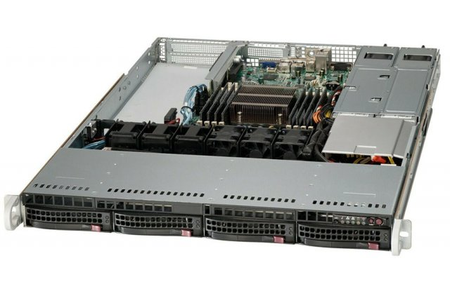 Корпус серверный Supermicro CSE-815TQ-R654CB