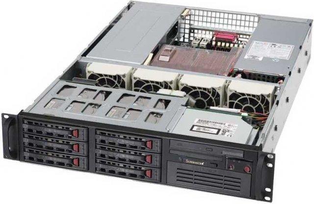 Корпус серверный Supermicro CSE-823TQ-653LPB
