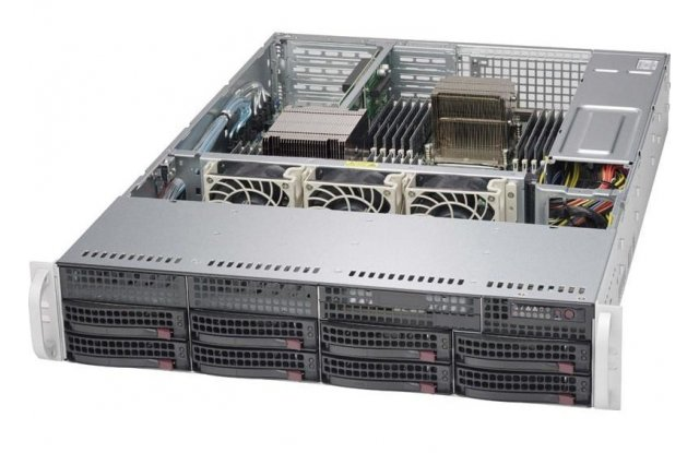 Корпус серверный Supermicro CSE-825TQC-600LPB