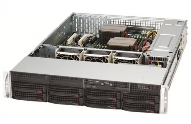Корпус серверный Supermicro CSE-825TQ-R720LPB