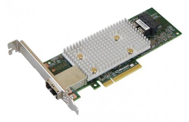 Контроллер SAS Adaptec SmartRAID 3154-8i8e SGL