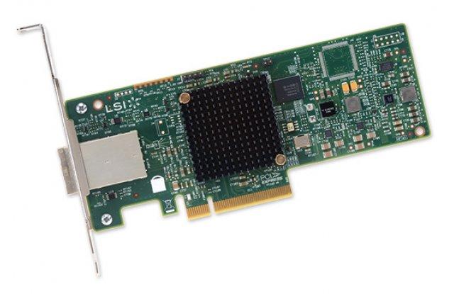 Контроллер SAS LSi 9300-8e SGL