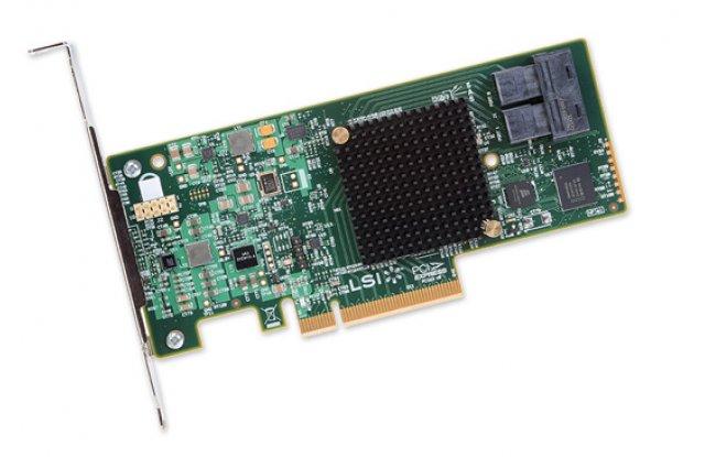 Контроллер SAS LSi 9300-8i SGL