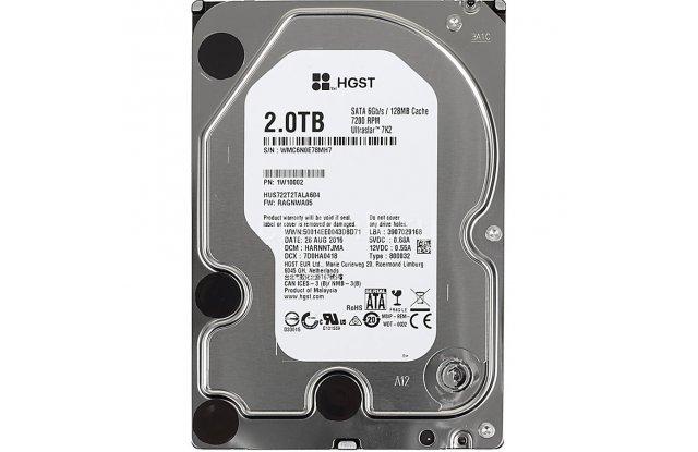 Жесткий диск 2TB SATA 6Gb/s Hitachi HUS722T2TALA604