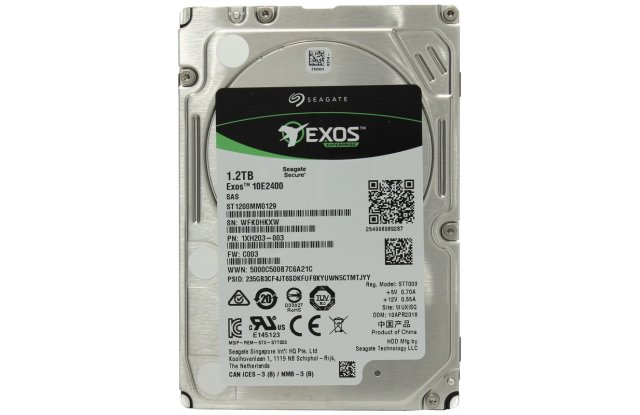 Жесткий диск 1.2TB SAS 12Gb/s Seagate ST1200MM0129