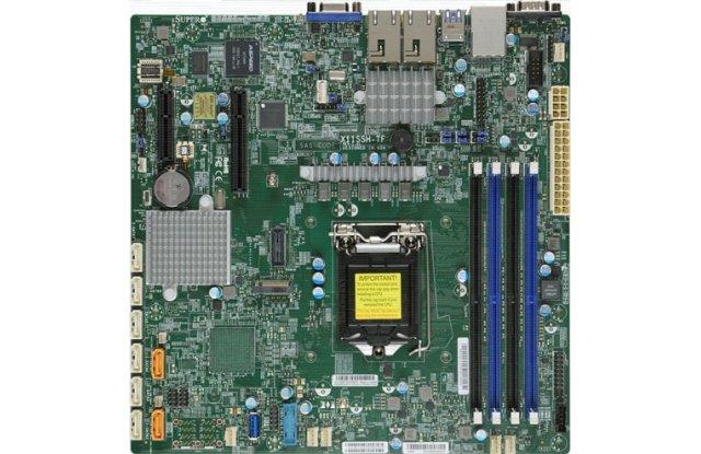 Материнская плата Supermicro MBD-X11SSH-TF-O