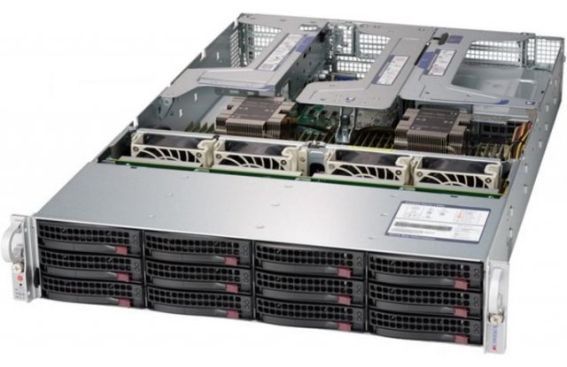 Серверная платформа Supermicro SSG-6029P-E1CR12H