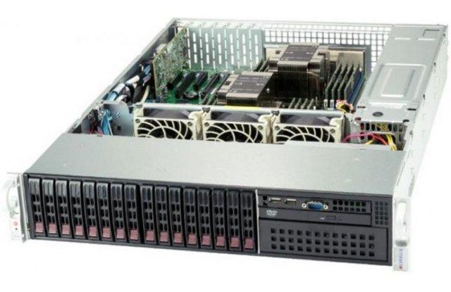 Серверная платформа Supermicro SYS-2029P-C1RT