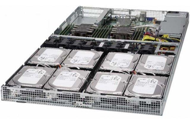 Серверная платформа Supermicro SYS-6019P-WT8