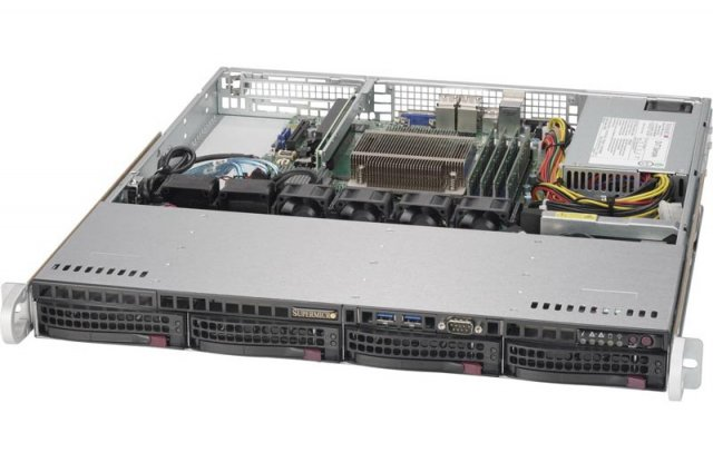 Серверная платформа Supermicro SYS-5019S-MR