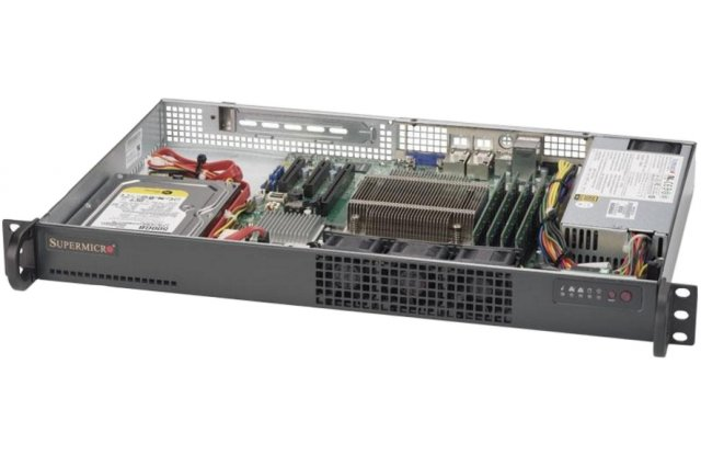 Серверная платформа Supermicro SYS-5019S-L
