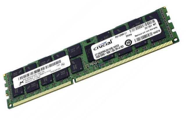 Модуль памяти Crucial DDR3 16Gb CT16G3ERSLD4160B