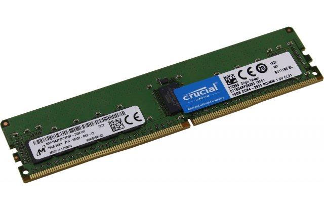 Модуль памяти Crucial DDR4 16Gb CT16G4RFD8266