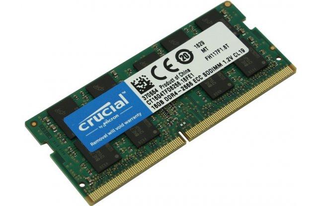 Модуль памяти Crucial DDR4 16Gb CT16G4TFD8266